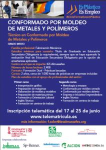 ALCION empresa colaboradora en el grado medio en formación profesional del sector plástico