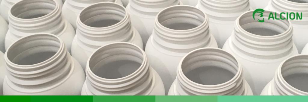 rendimiento fabricación de envases plásticos - ALCION 75 años